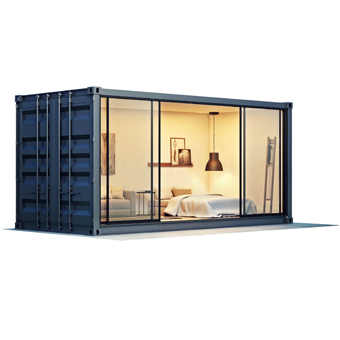 shipping container granny flat