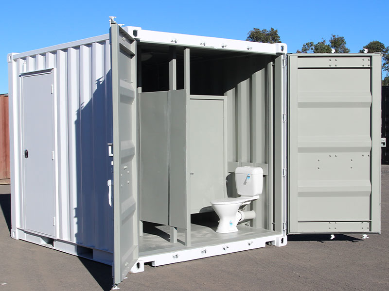Shipping Container Ablution