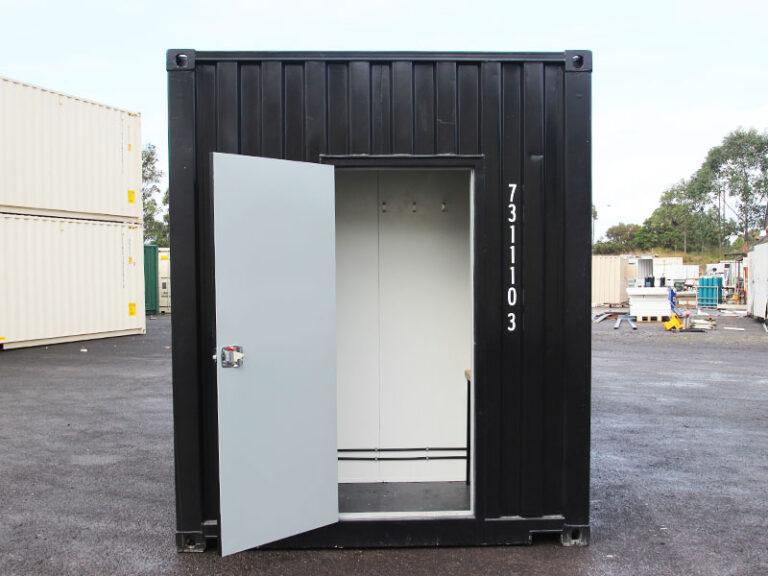 black-ablution-door-view