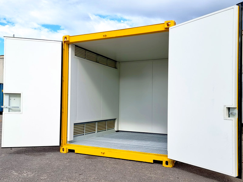 Dangerous Goods s Shipping Container